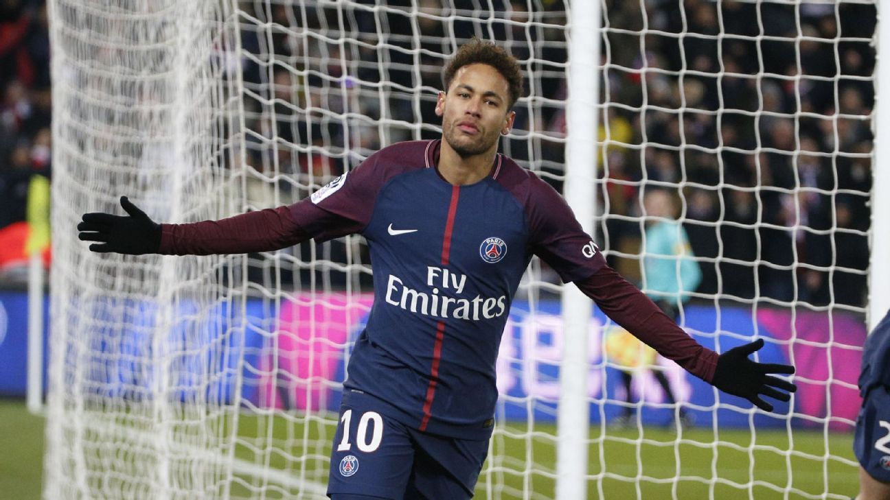 Neymar is the most expensive player in the history of football at €222 million.