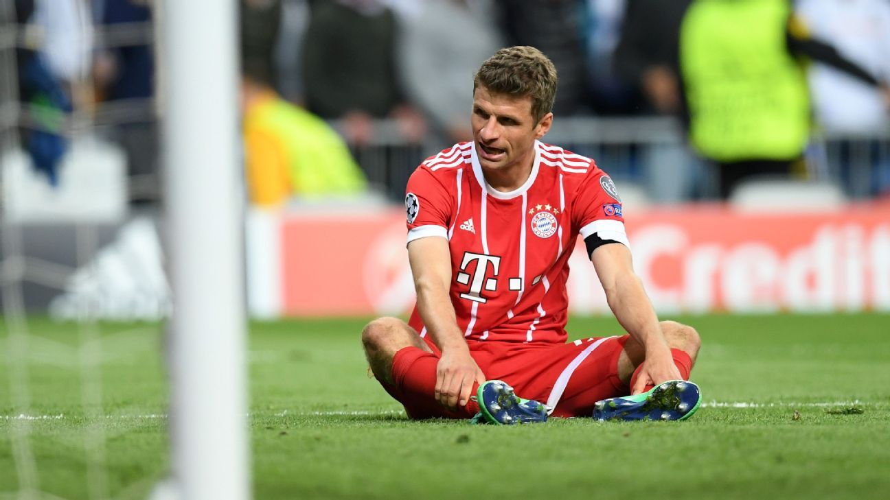 Thomas Muller said Bayern Munich 'lacked a bit of luck and lacked a bit of quality' against Real Madrid