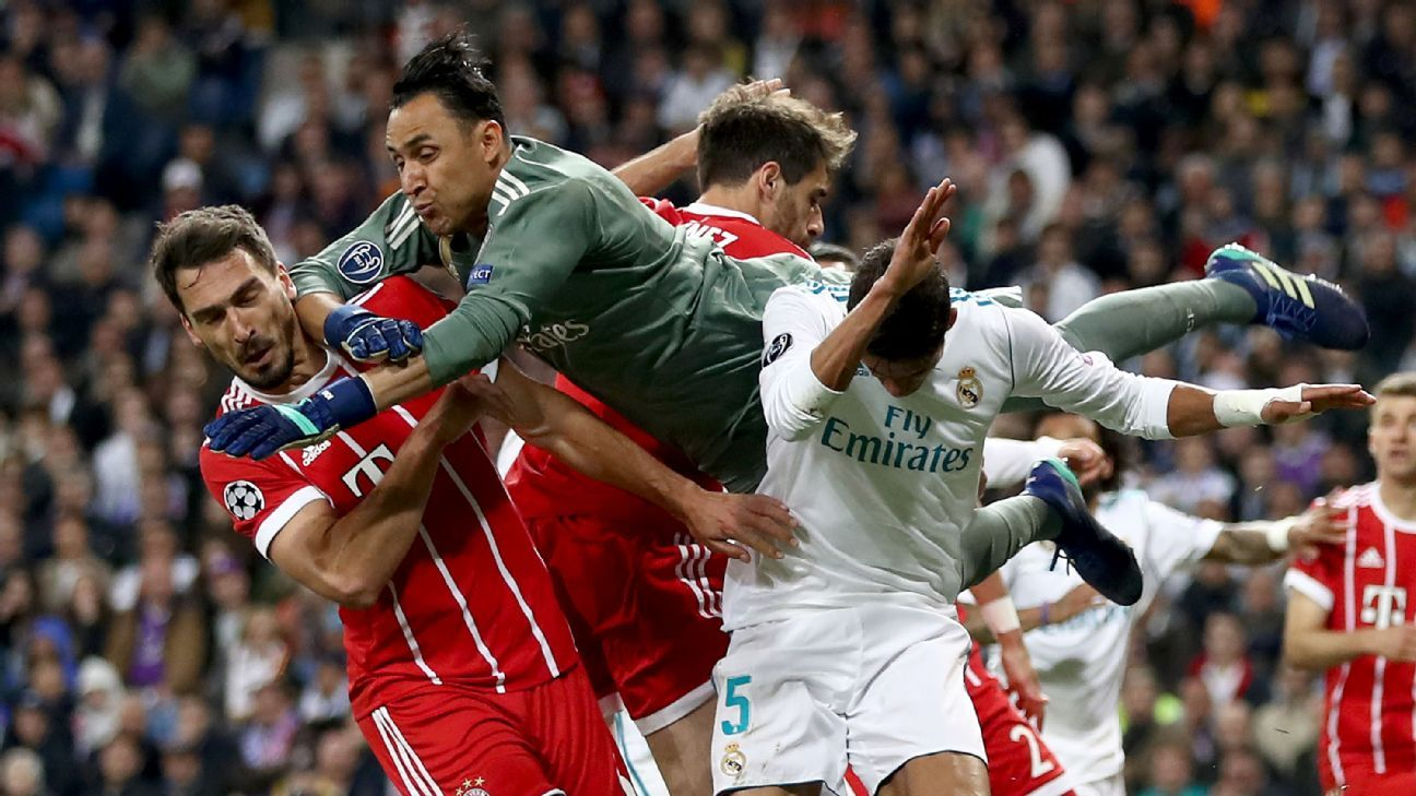 Goals and errors abounded in almost equal measure during an entertaining Champions League semifinal stage.