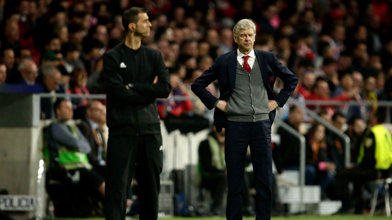 Arsene Wenger's fairy-tale ending was not to be at Atletico Madrid.