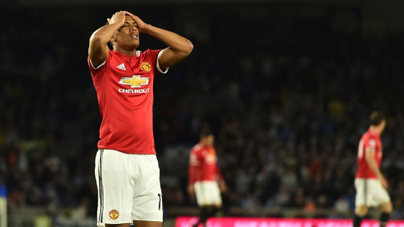 Anthony Martial has been at Manchester United since 2015.