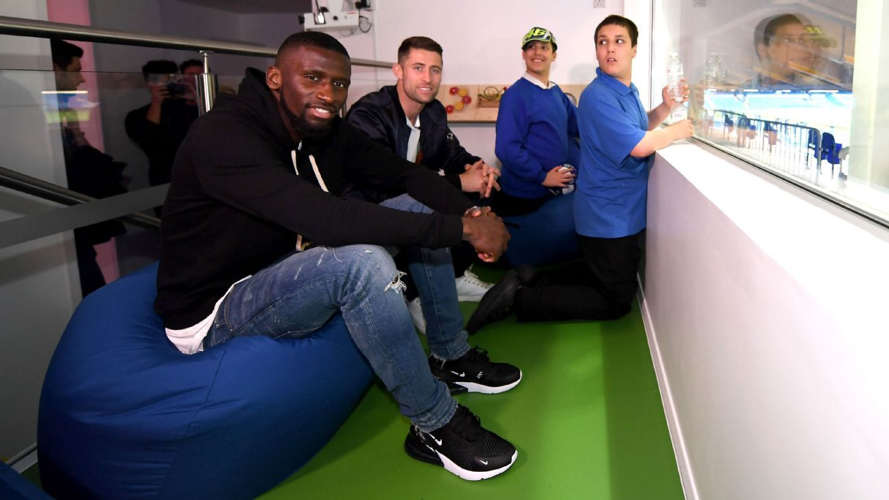 Antonio Rudiger was speaking at the launch of a sensory room designed to enhance the enjoyment of families with children with additional sensory needs at Stamford Bridge.