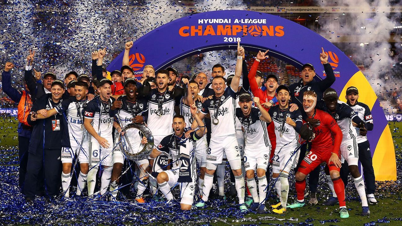 Melbourne Victory lift their record fourth A-League title.