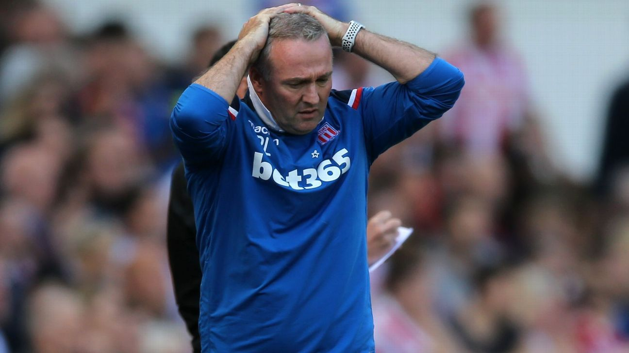 Paul Lambert could not halt Stoke's slide towards the Championship.