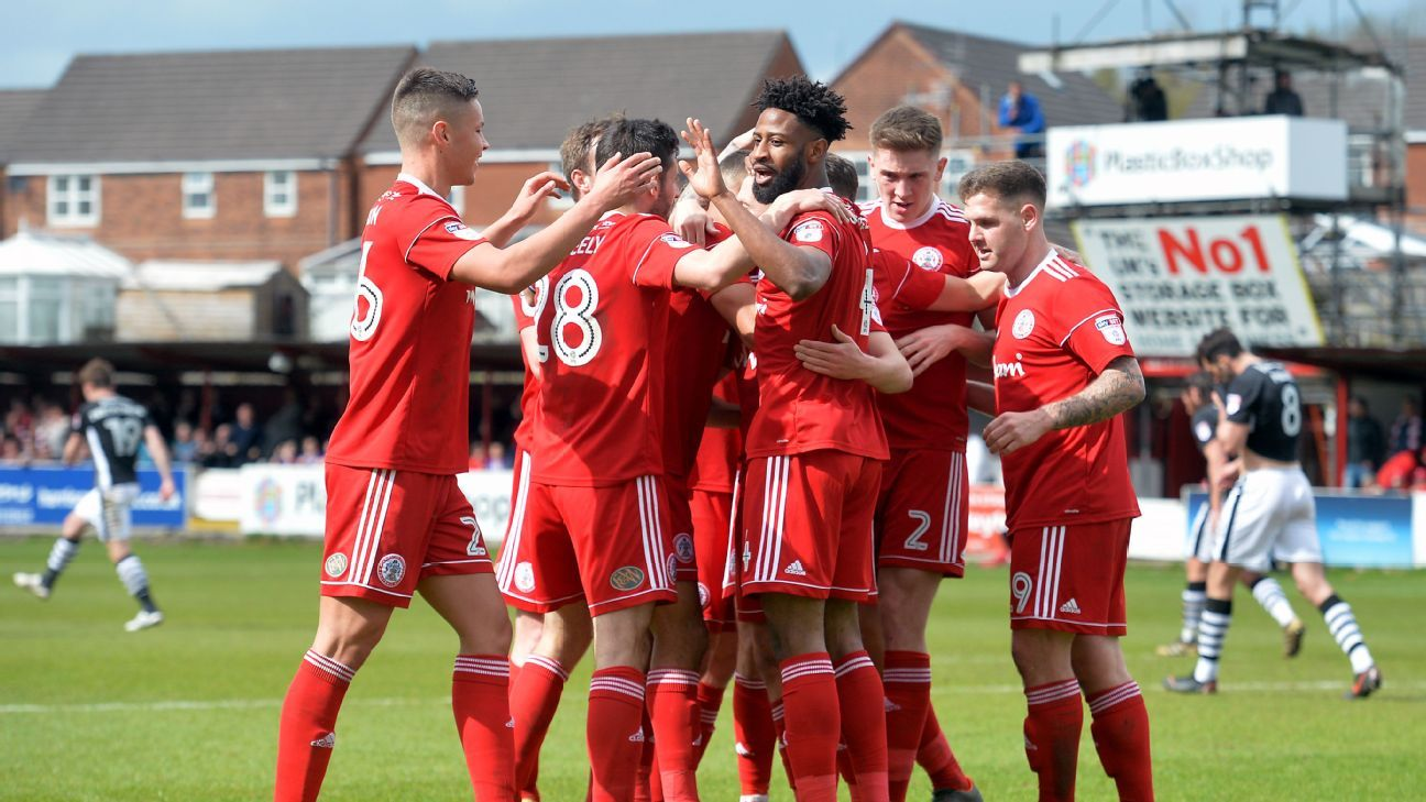 Accrington Stanley were involved in their very own 'Who's on First' mix-up on Saturday.