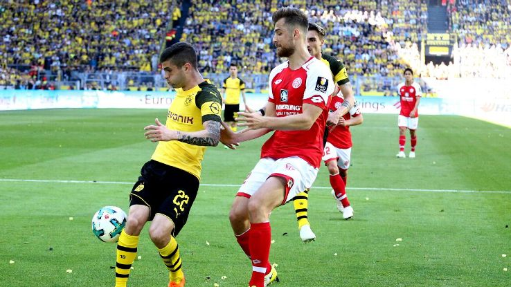 Against Mainz, Christian Pulisic had one of his worst games since breaking into the Dortmund team.