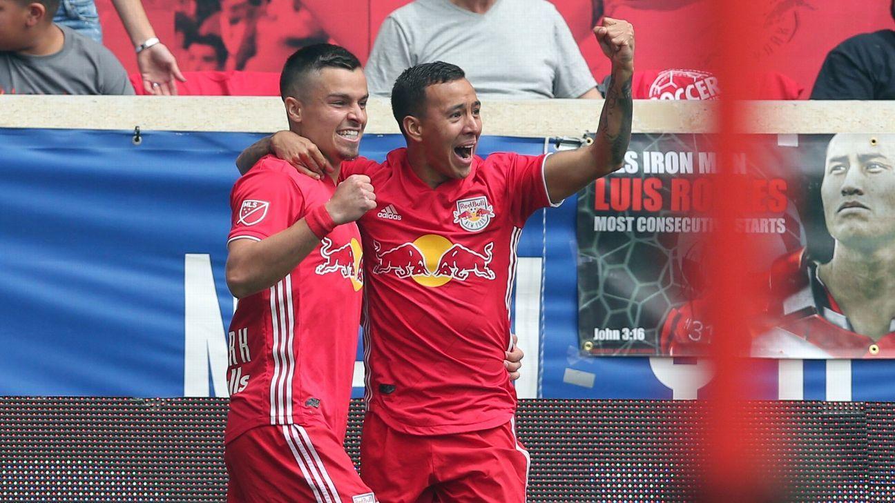 New York Red Bulls thrash New York City FC in Hudson River Derby