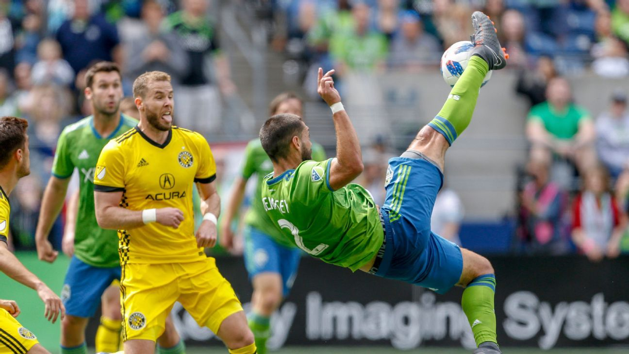 Seattle Sounders forced to settle for 0-0 draw with 10-man Columbus Crew