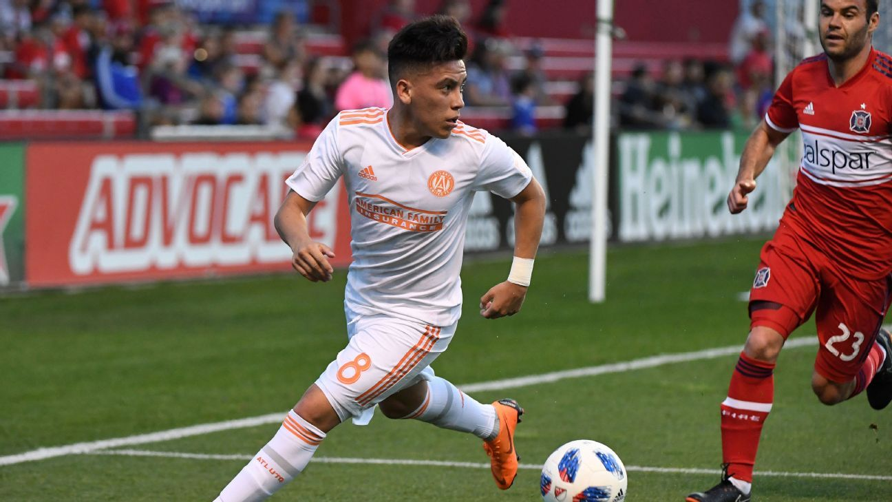 Ezequiel Barco nets first MLS goal as Atlanta United defeat Chicago Fire