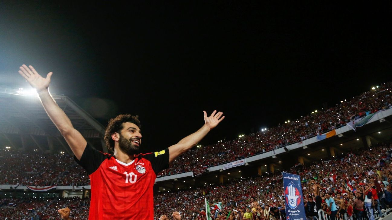 Mohamed Salah has the hopes of a nation on his shoulders in Russia.