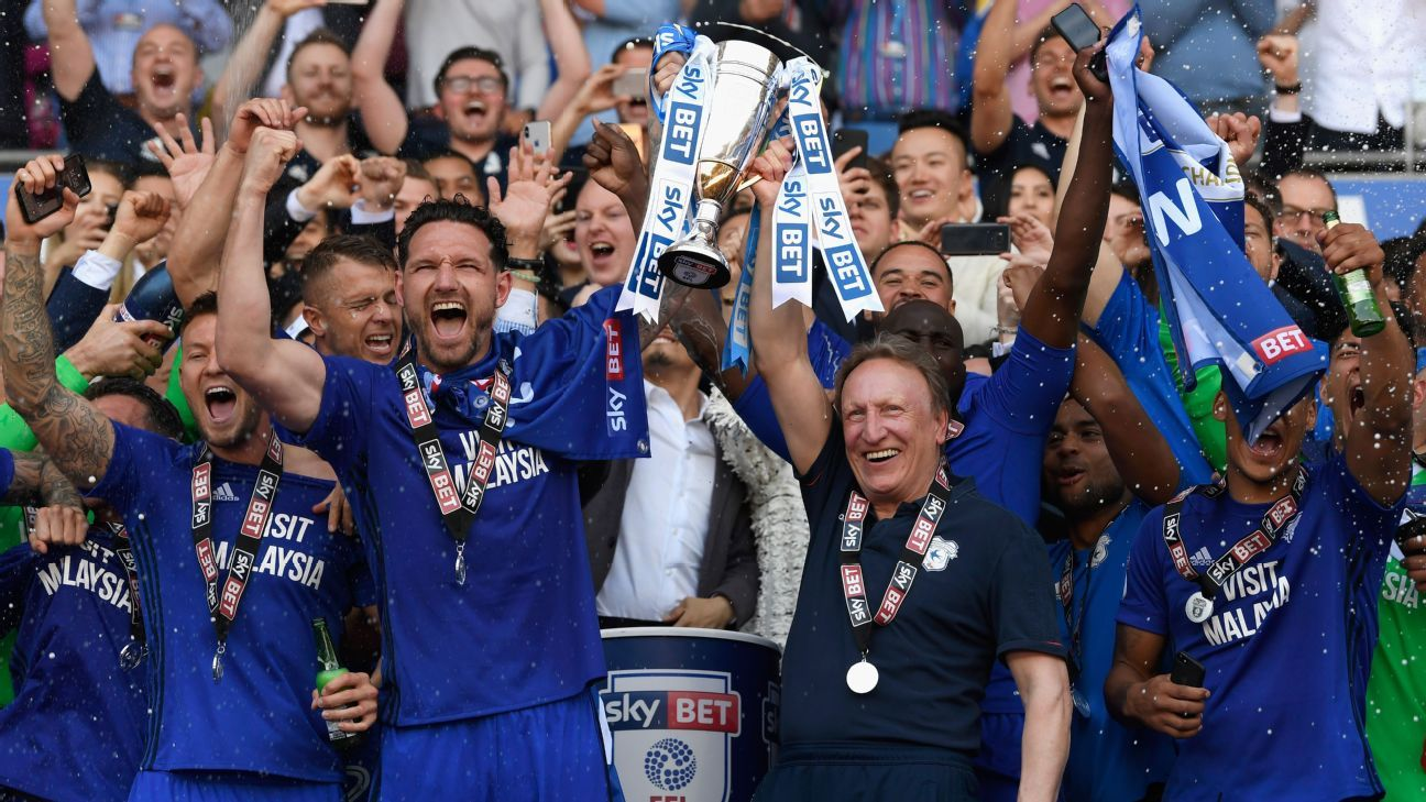 Cardiff City sealed promotion to the Premier League on the final day of the 2017-18 Championship season