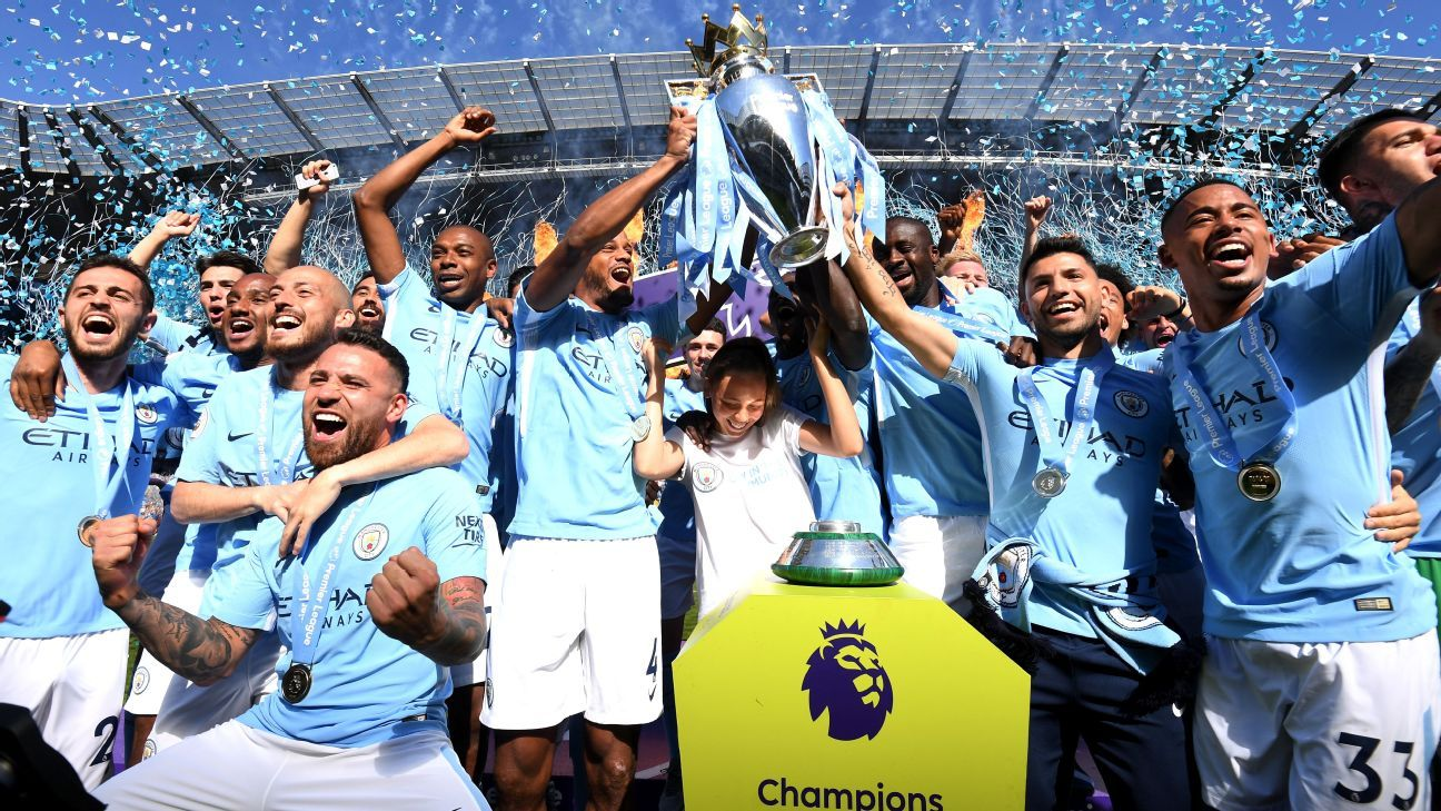 Manchester City finished streets ahead of the rest in a record-breaking season.