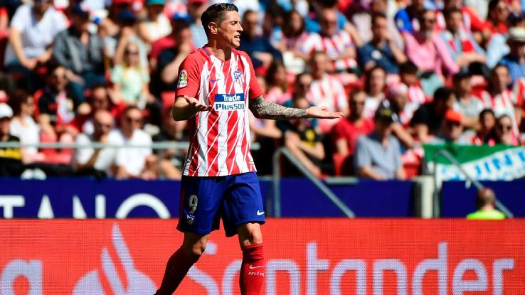 Fernando Torres' second spell at Atletico Madrid is ending with a whimper.