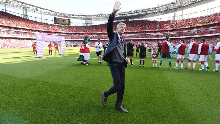 Arsene Wenger will wave goodbye to Arsenal for good this Sunday.