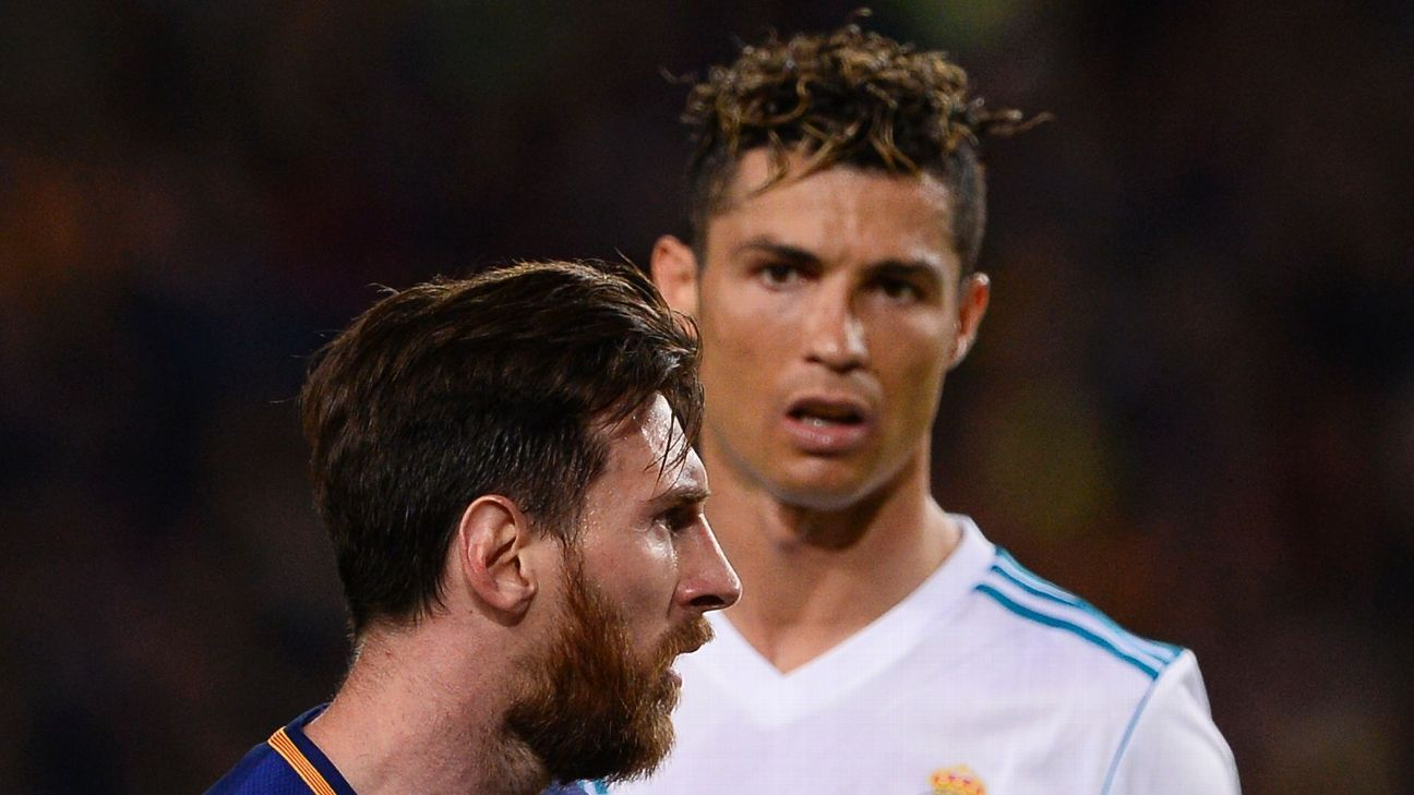 This will be the first Clasico without Lionel Messi or Cristiano Ronaldo since 2007.