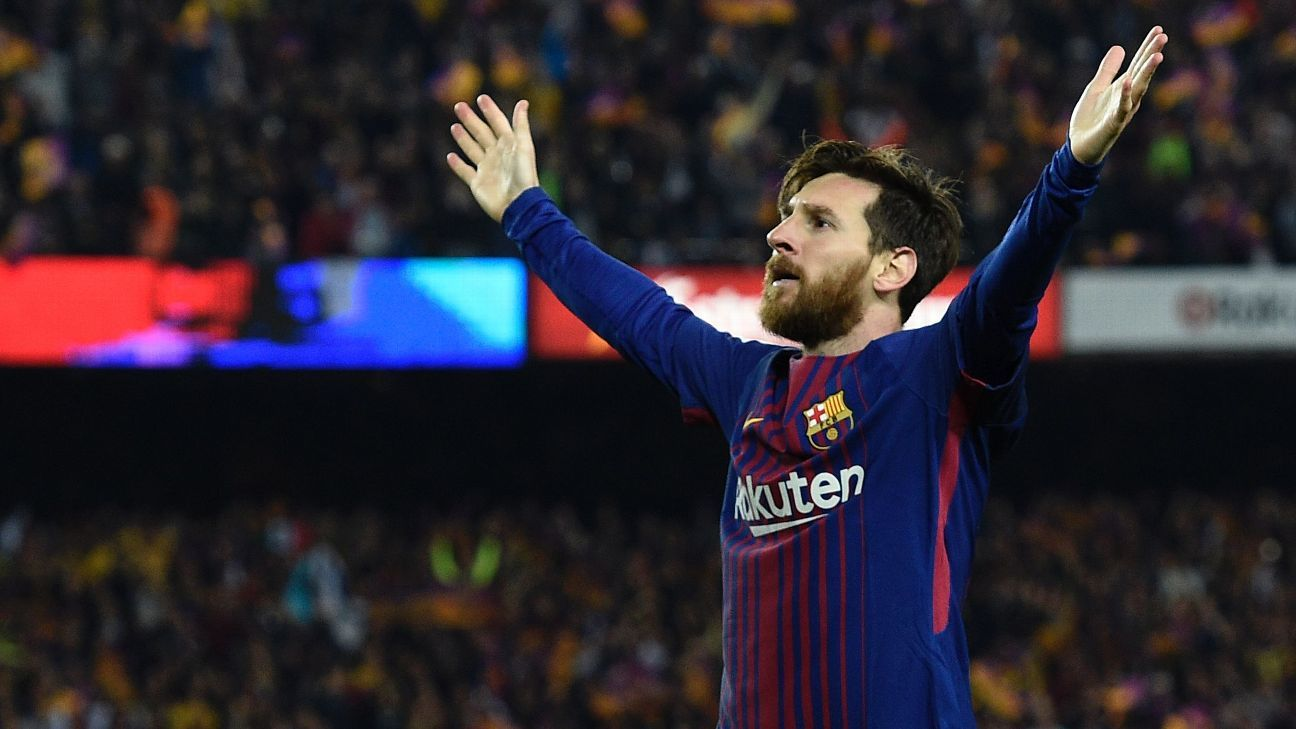 Lionel Messi has scored 34 La Liga goals this season.