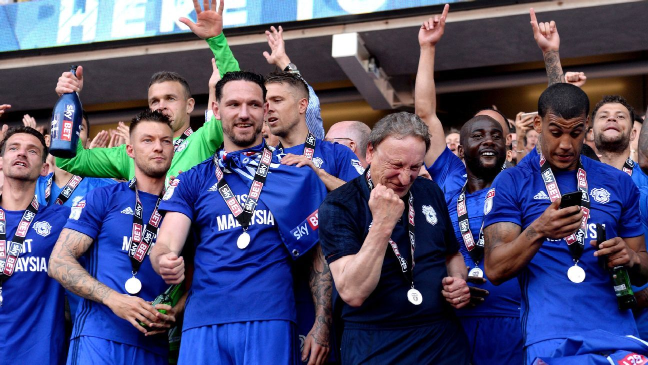 Neil Warnock and Cardiff City celebrate winning their promotion to the Premier League. How will they fare there?