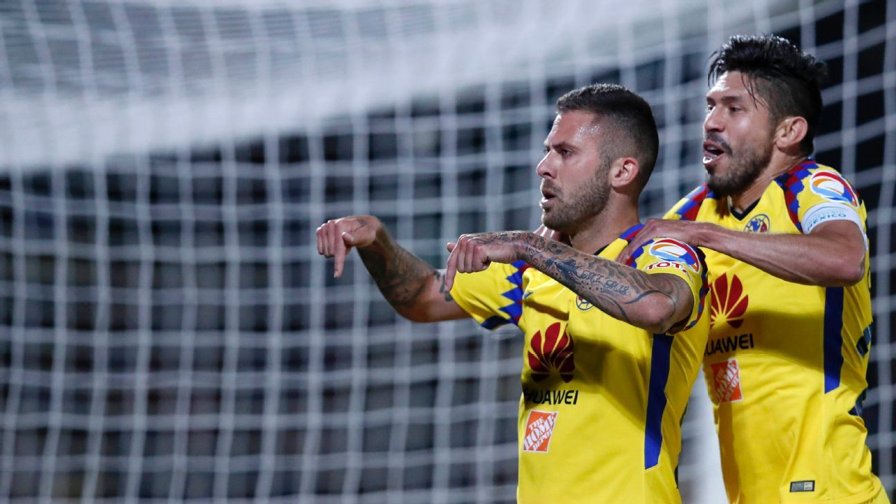 Club America's Jeremy Menez (left) was perhaps the best player in the Clausura quarterfinal round, with two goals and two assists.