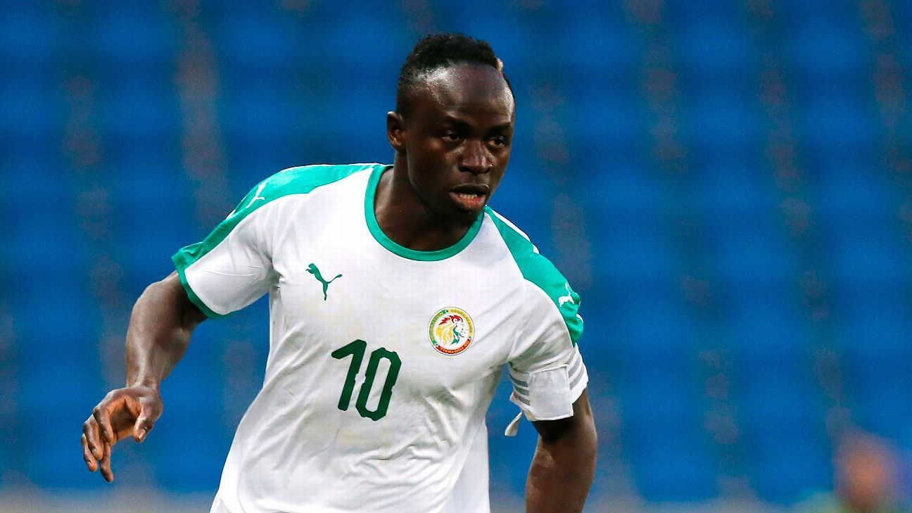 Senegal's Sadio Mane