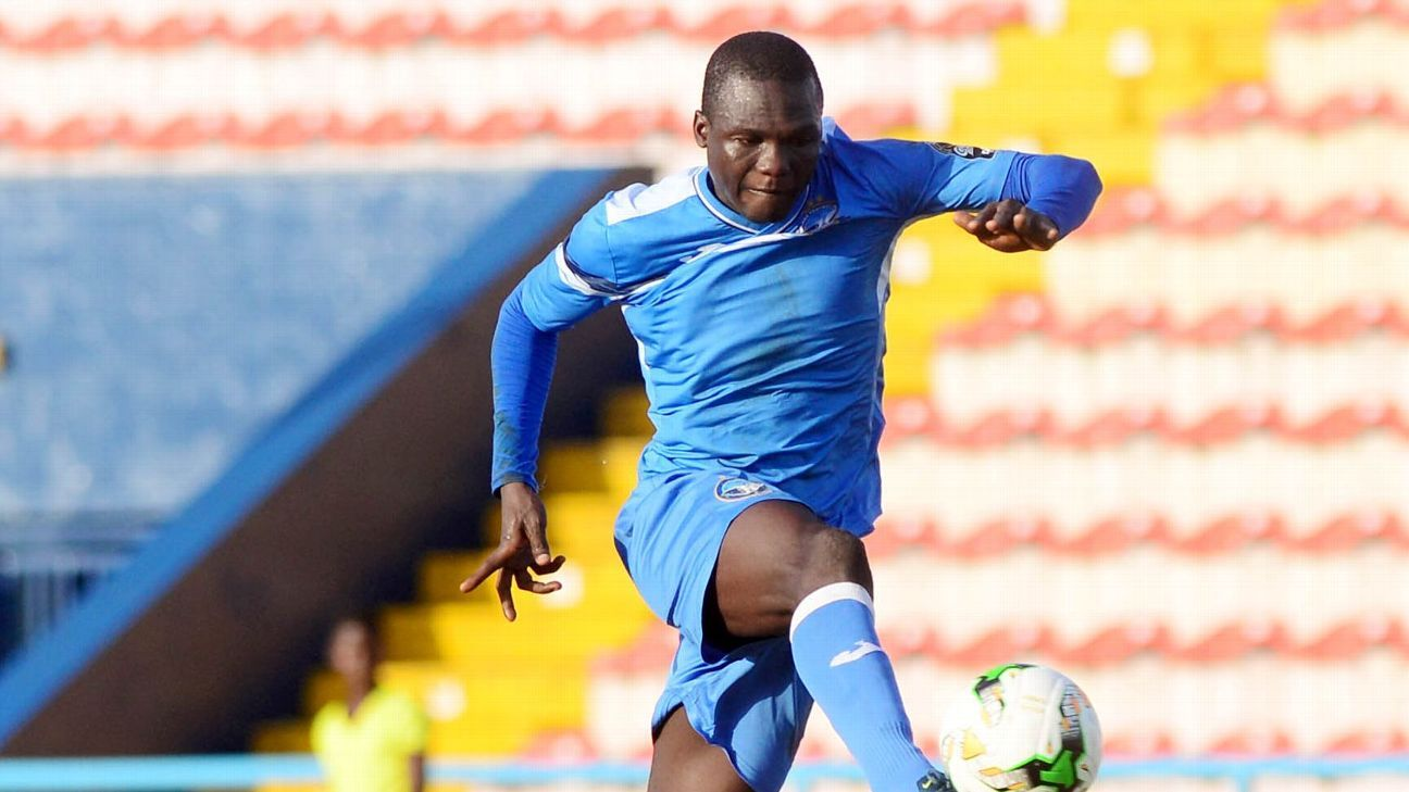 Enyimba's Ibrahim Mustapha will be hoping to make amends for some inexcusable misses when his team take on Rayon Sports in their CAF Confederations Cup quarterfinal.