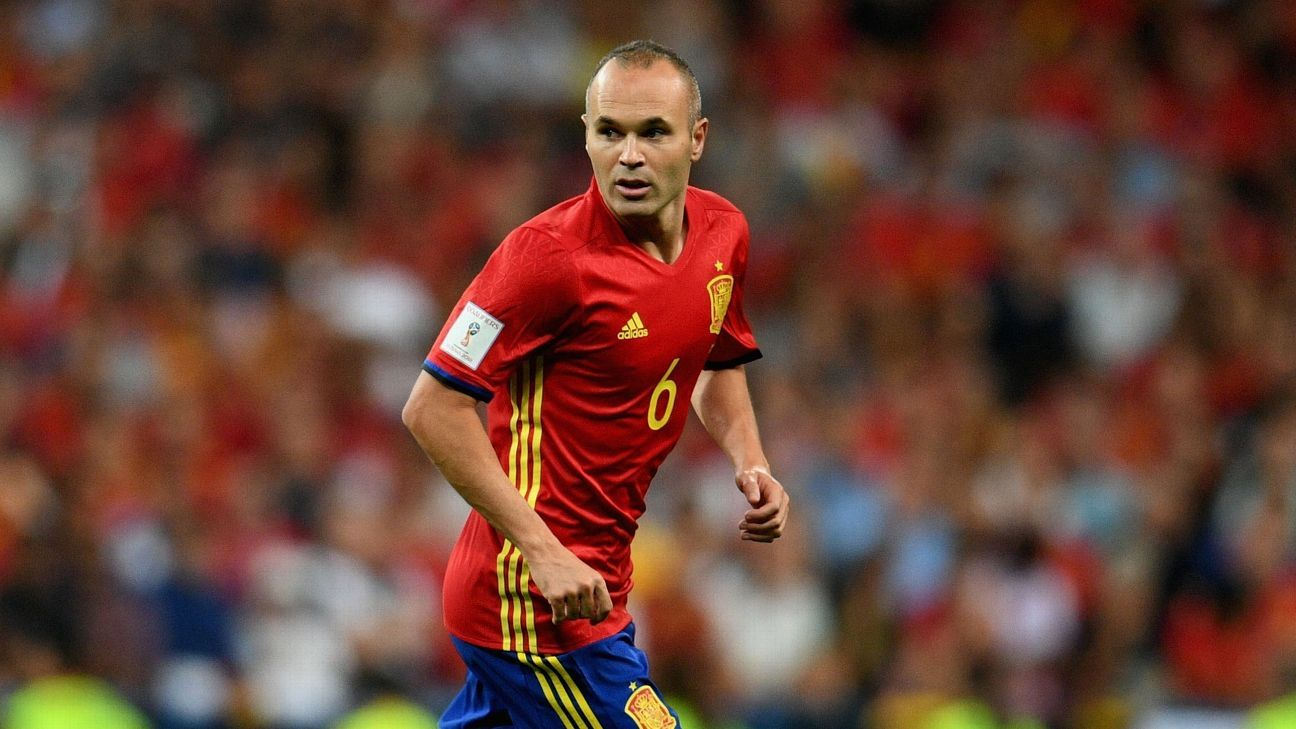 Spain's Andres Iniesta