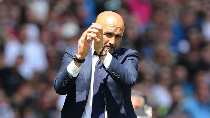 Inter Milan coach Luciano Spalletti