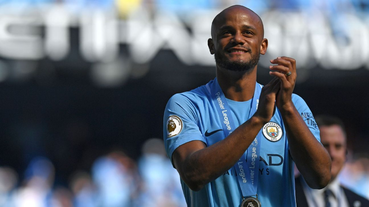 Manchester City's Vincent Kompany was among a number of players to report for preseason training earlier than planned.