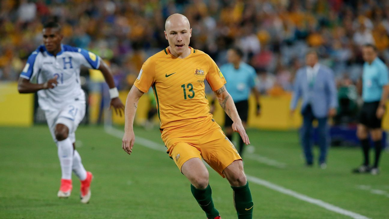 Midfielder Aaron Mooy is the engine from which Australia turn defence into attack.