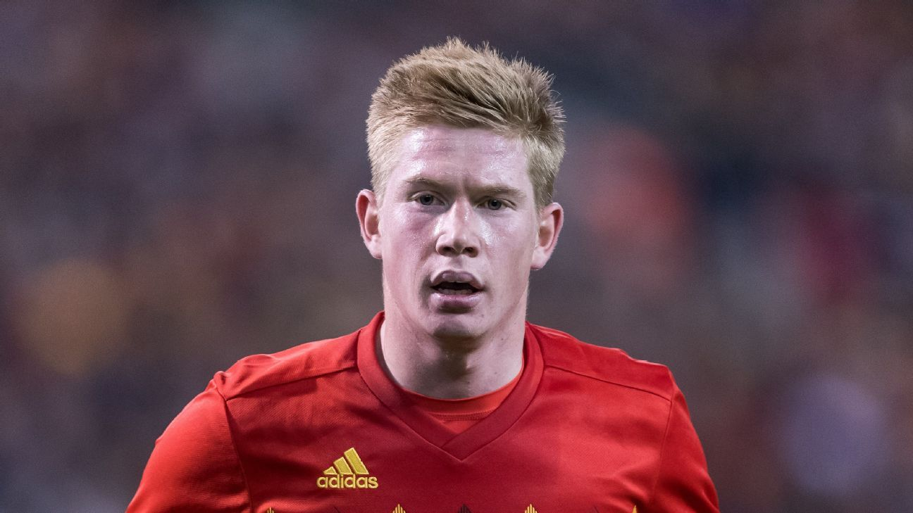 In a star-studded Belgium side, Kevin De Bruyne stands above the rest.