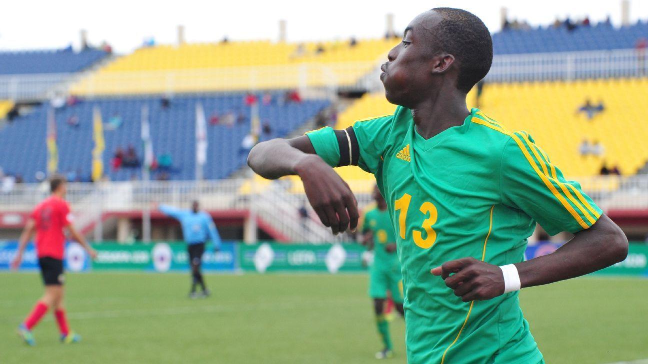 Tino Kadewere of Zimbabwe