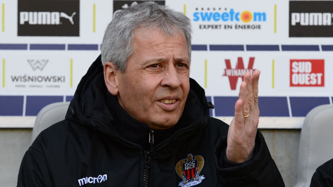 Lucien Favre guided Nice to a third place while manager.