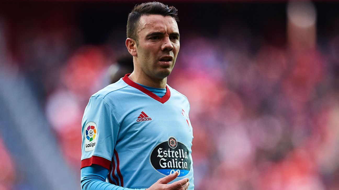 Iago Aspas spent one season in the Premier League with Liverpool.