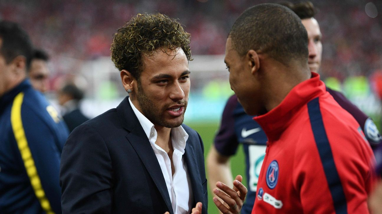 Neymar Mbappe Coupe de France 180508