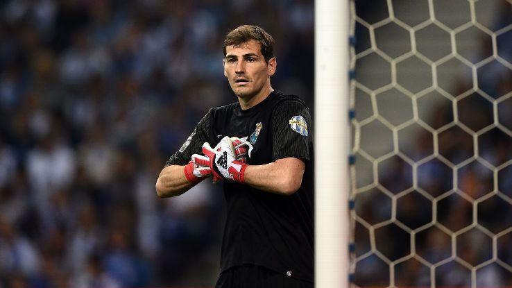 Porto's Iker Casillas