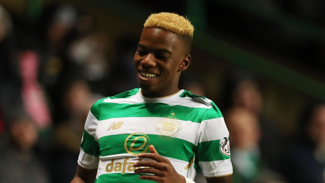 Charly Musonda spent the second half of the season on loan at Celtic.