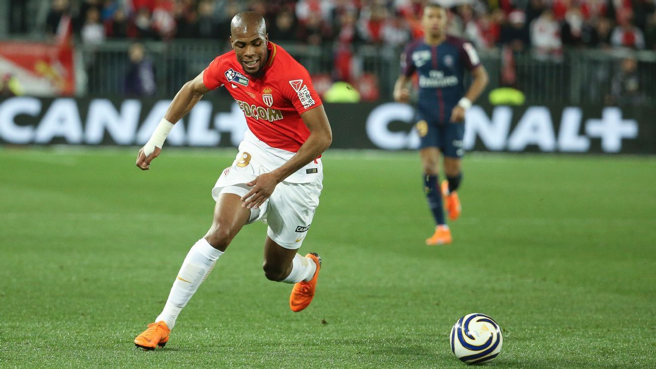 Monaco's Djibril Sidibe