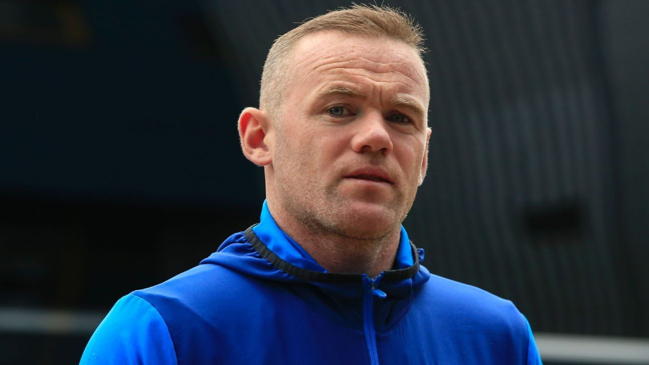 Wayne Rooney returned to Everton in 2017.