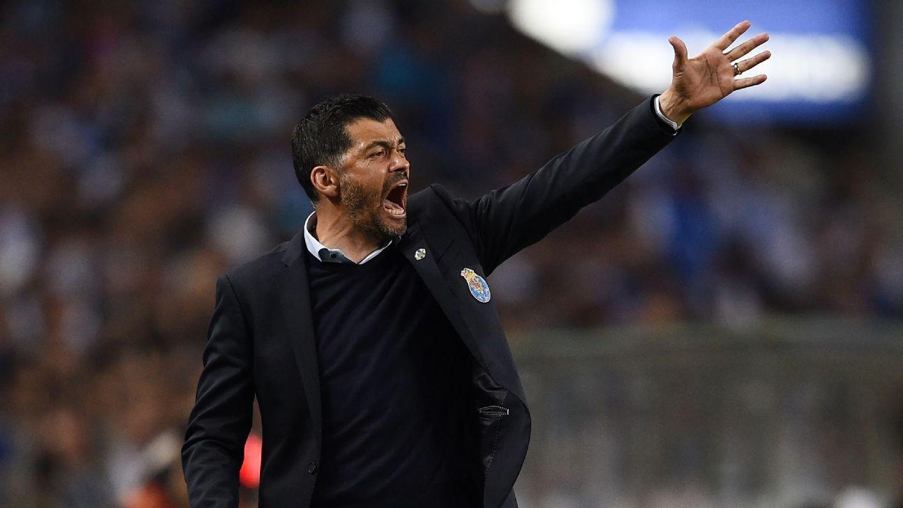 Porto coach Sergio Conceicao