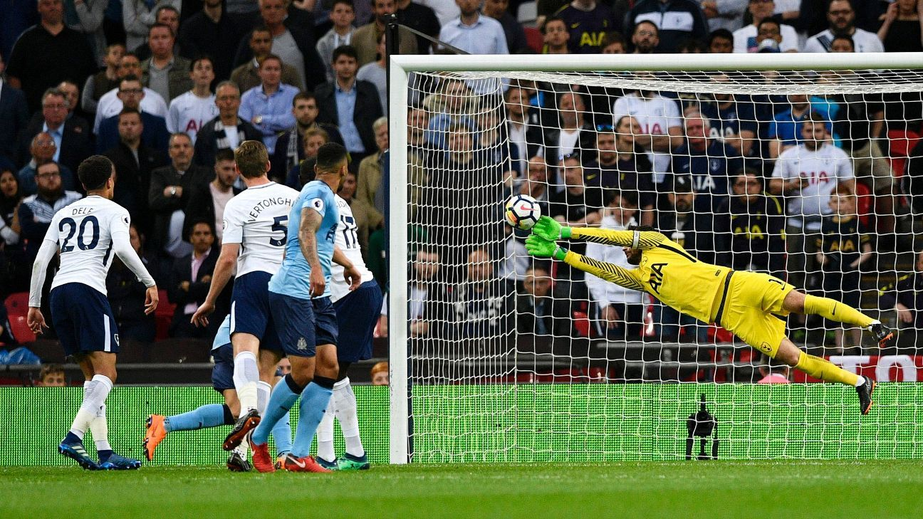 Hugo Lloris was stout in goal and proved a calming influence on the Tottenham defence.