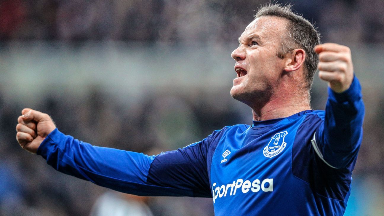 Everton's Wayne Rooney agrees to deal in principle to join D.C. United - reports