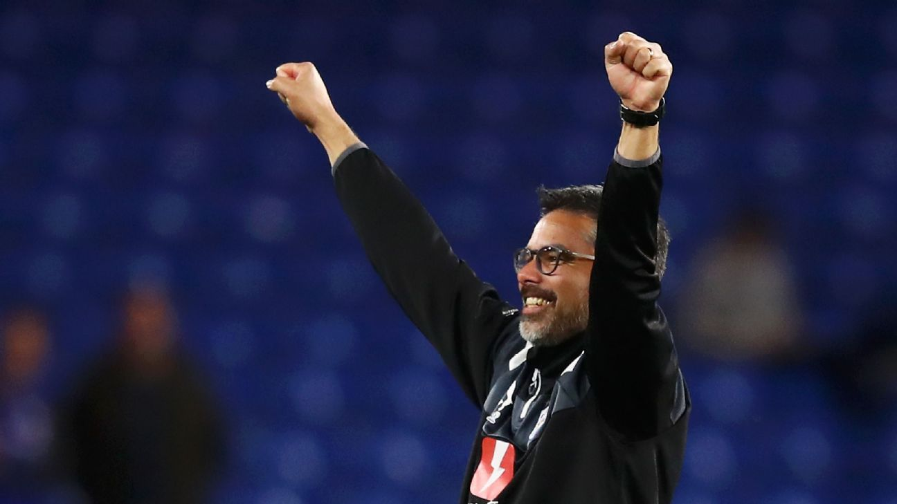Huddersfield Town manager David Wagner.