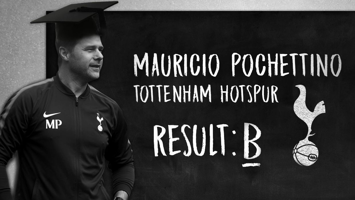 Mauricio Pochettino has managed to negotiate a difficult season for Tottenham
