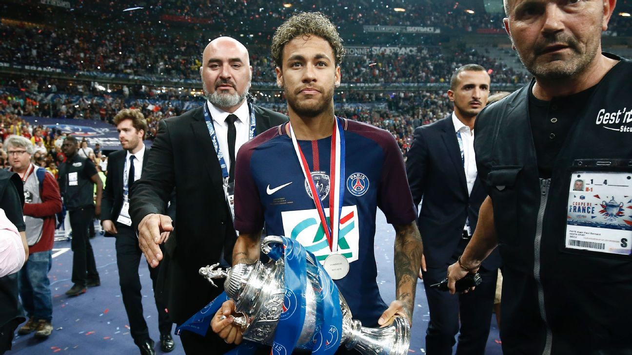 Paris Saint-Germain's Neymar