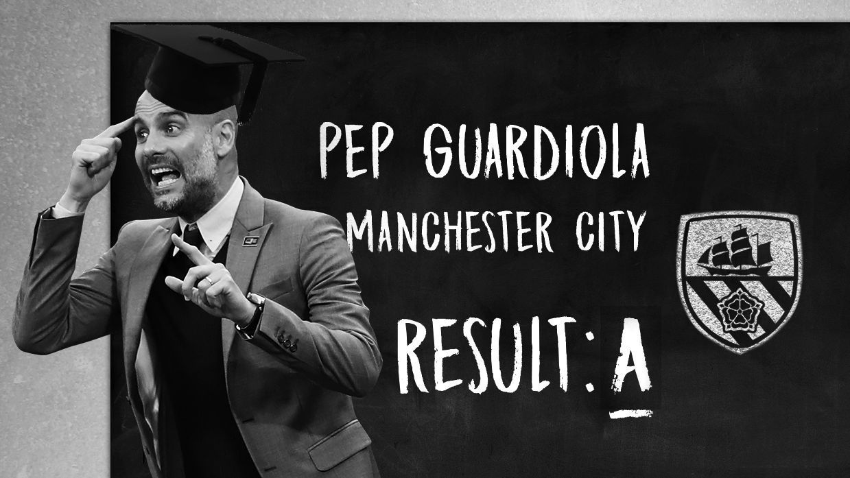 It was a Pep Guardiola masterclass in the Premier League in 2017-18.