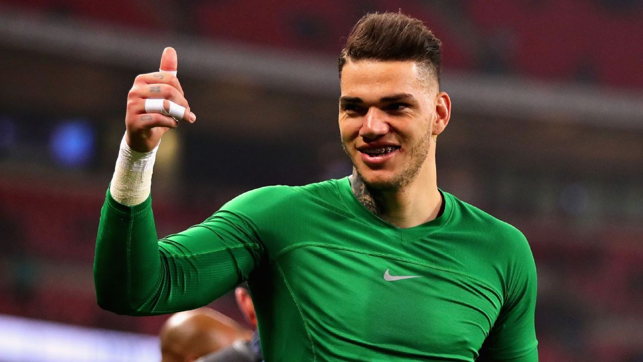 Ederson is breaking records as well as winning trophies.