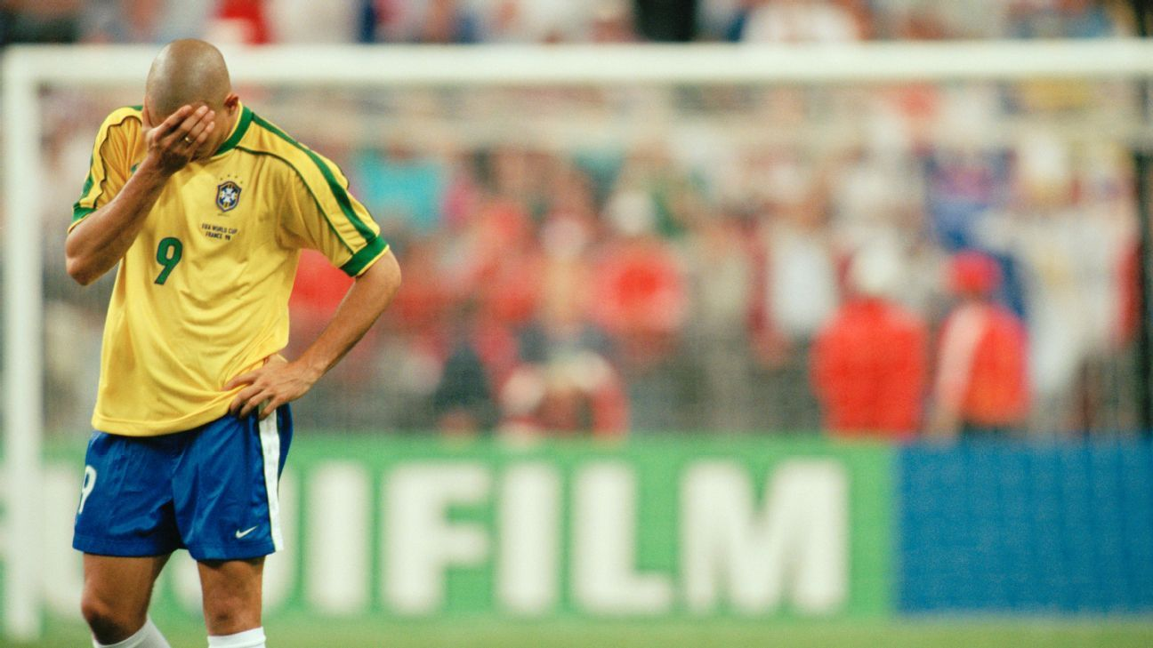 The story of Ronaldo in the 1998 World Cup final is one of the most infamous in football history.