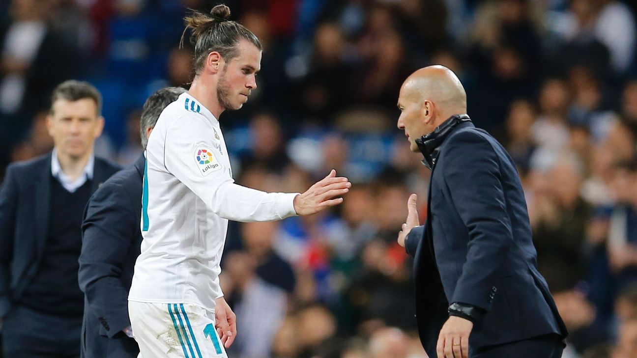 Is a fracture in Gareth Bale and Zinedine Zidane's relationship cause for the player to leave Real Madrid?