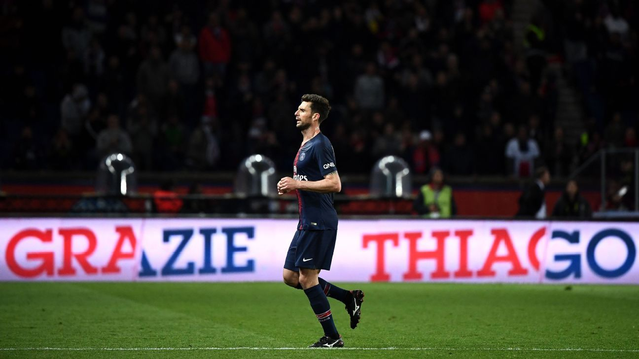 Thiago Motta retired at the end of the 2017-18 season.