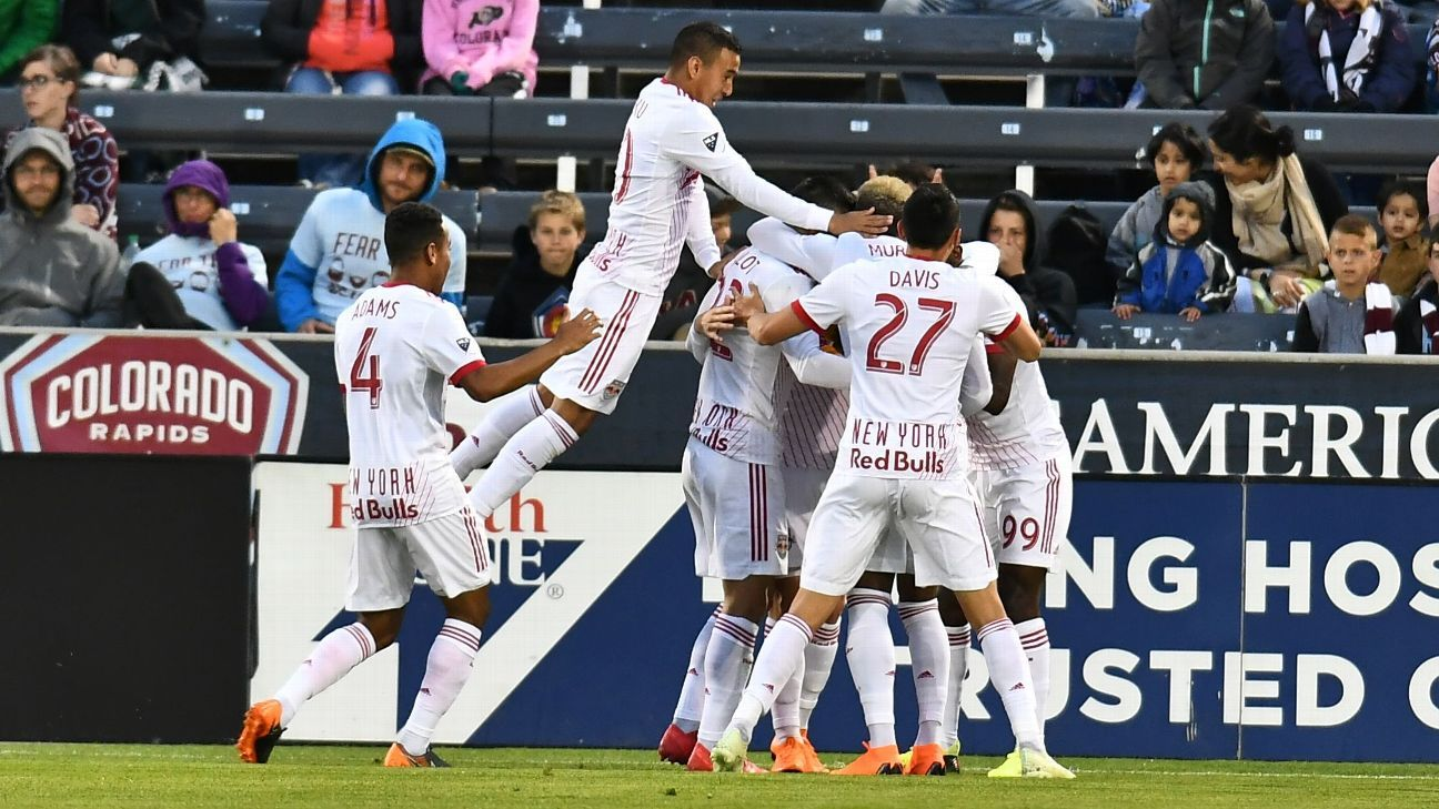 Red Bulls hold off Rapids to earn third consecutive win