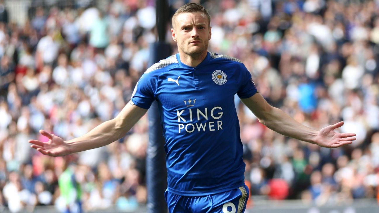 Leicester City's Jamie Vardy will be hoping to light up the World Cup with England.